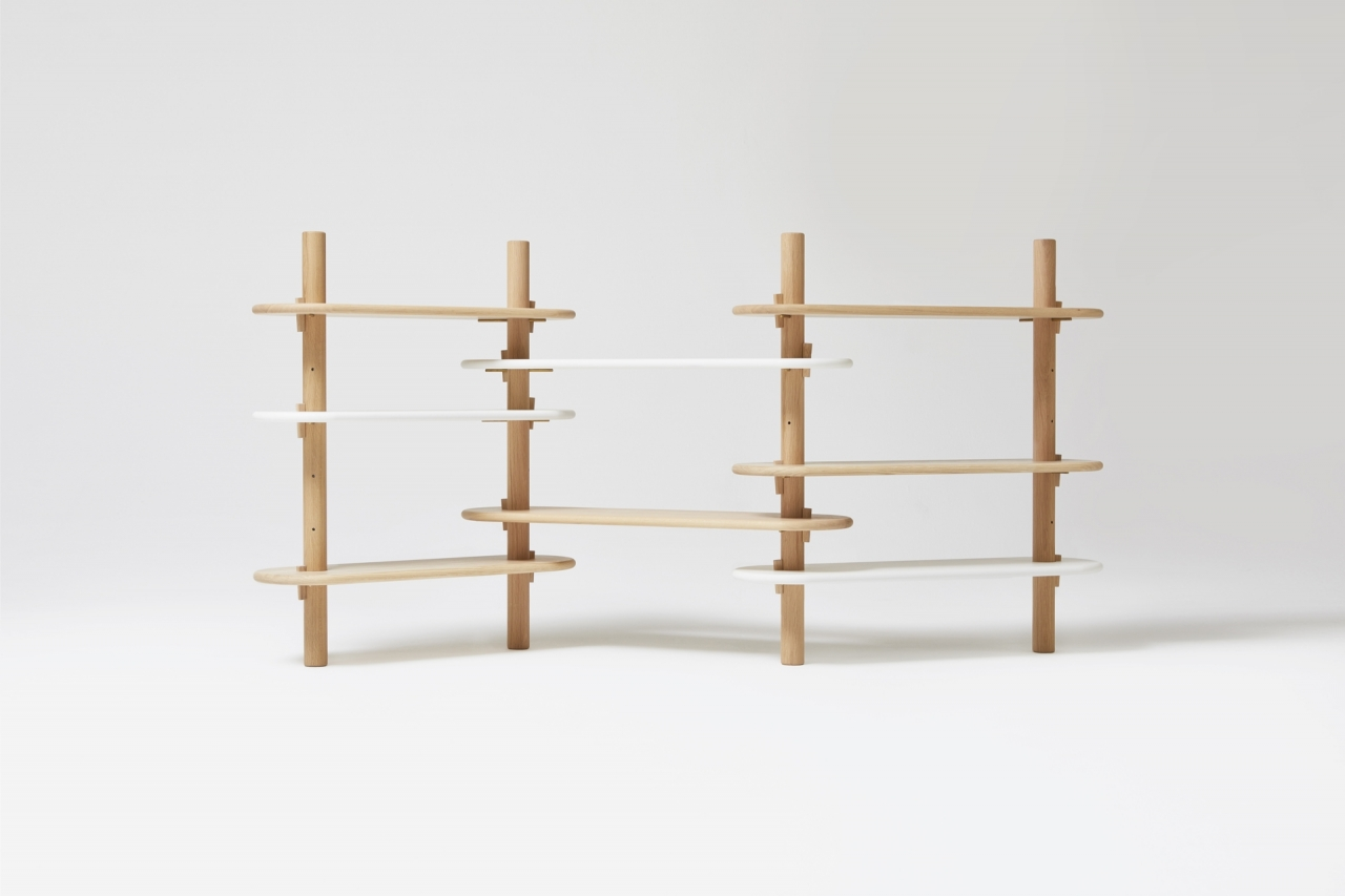 PARAVENT low bookshelf